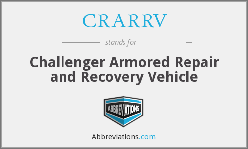 What does CRARRV stand for?