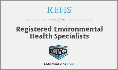 What does REHS stand for?