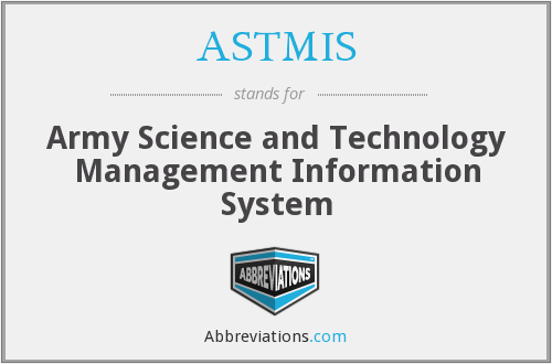 What does ASTMIS stand for?