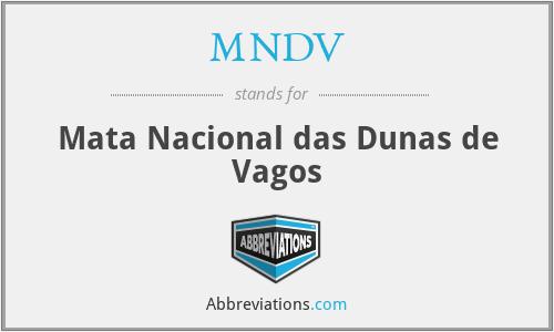 MNDV - Mata Nacional das Dunas de Vagos