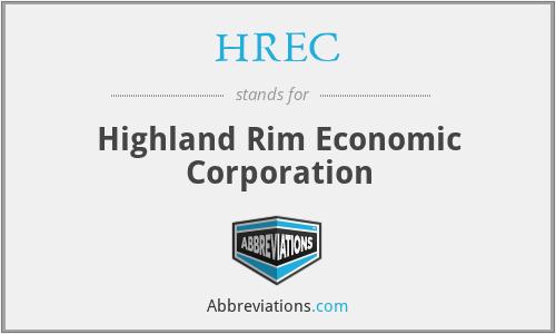 HREC - Highland Rim Economic Corporation
