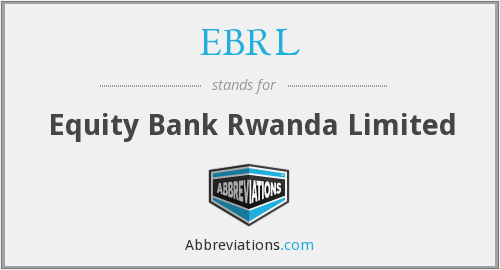 What does EBRL stand for?