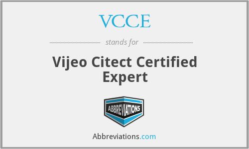 VCCE - Vijeo Citect Certified Expert