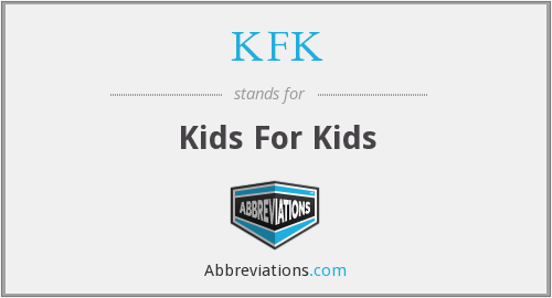 KFK - Kids For Kids
