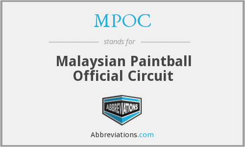 MPOC - Malaysian Paintball Official Circuit