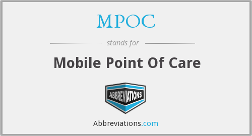 MPOC - Mobile Point Of Care