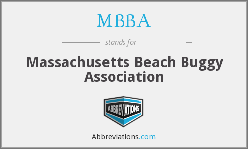 What does MBBA stand for?