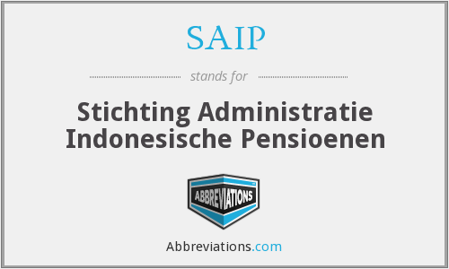 What does SAIP stand for?