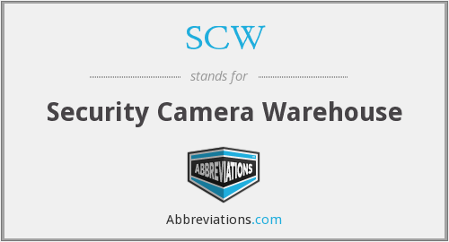 SCW - Security Camera Warehouse