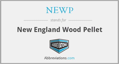 NEWP - New England Wood Pellet