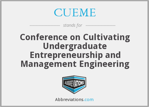 What does CUEME stand for?