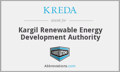 What does KREDA stand for?