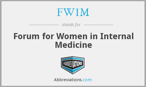 What does FWIM stand for?