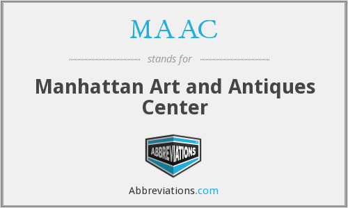 MAAC - Manhattan Art and Antiques Center