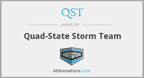 QST - Quad-State Storm Team
