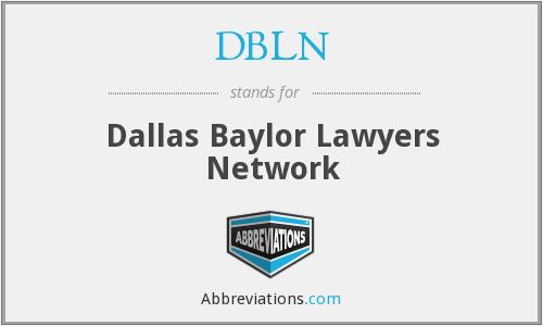 What does DBLN stand for?