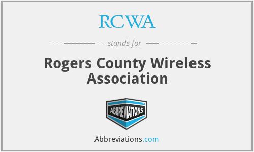 RCWA - Rogers County Wireless Association