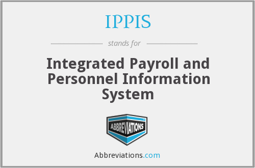 What does IPPIS stand for?