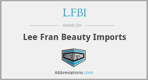 What does LFBI stand for?