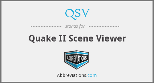 QSV - Quake II Scene Viewer