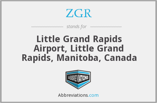 ZGR - Little Grand Rapids Airport, Little Grand Rapids, Manitoba, Canada