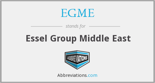 What does EGME stand for?