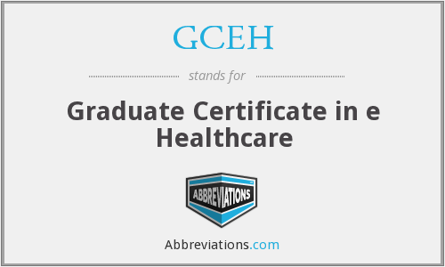 What does GCEH stand for?