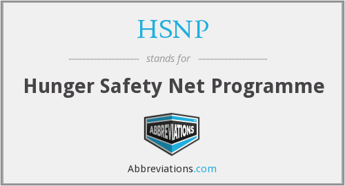 What does HSNP stand for?