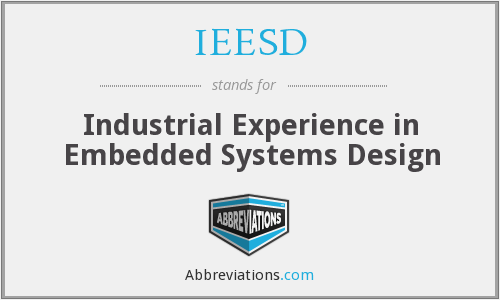 What does IEESD stand for?
