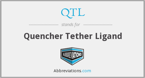 QTL - Quencher Tether Ligand