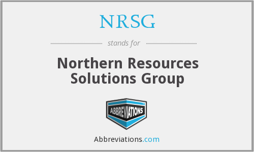 What does NRSG stand for?