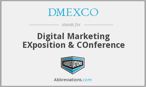 What does DMEXCO stand for?