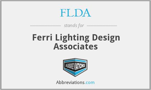 FLDA - Ferri Lighting Design Associates