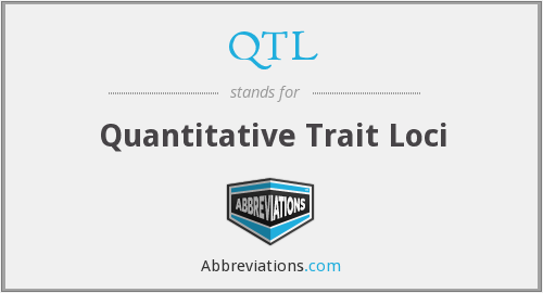 QTL - Quantitative Trait Loci