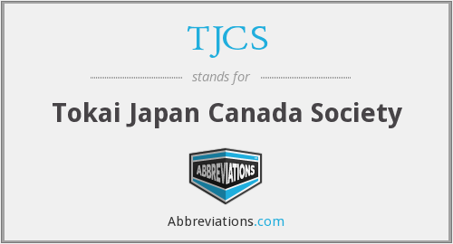 What does TJCS stand for?