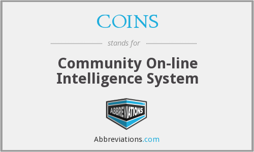 COINS - Community On-line Intelligence System