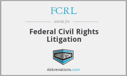 What does FCRL stand for?