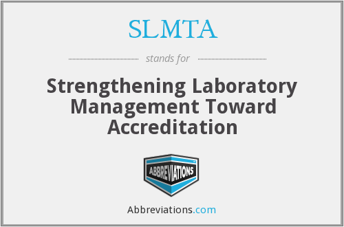 What does SLMTA stand for?