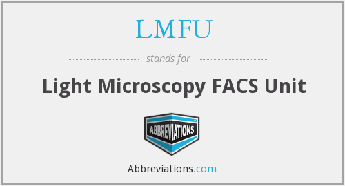 What does LMFU stand for?