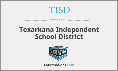 What does TISD stand for?