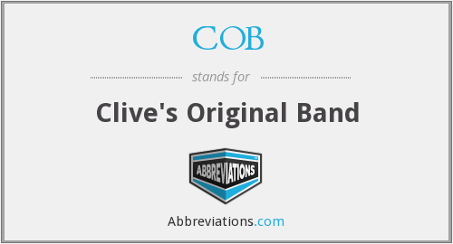 COB - Clive's Original Band