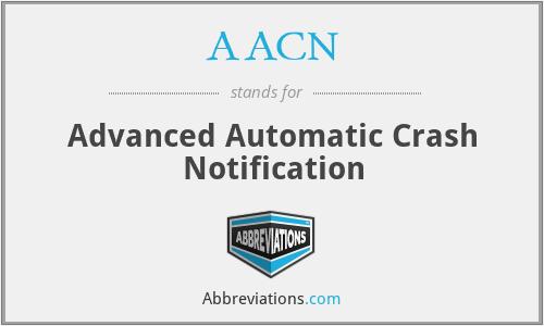 AACN - Advanced Automatic Crash Notification