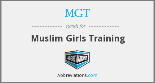 MGT - Muslim Girls Training