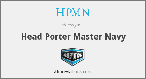 What does HPMN stand for?