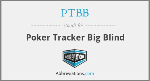 PTBB - Poker Tracker Big Blind