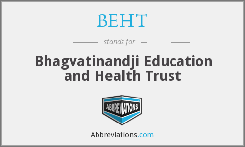 What does BEHT stand for?
