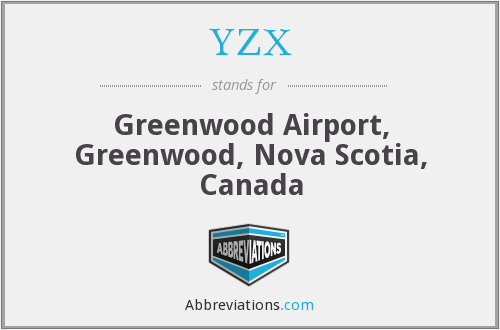 YZX - Greenwood Airport, Greenwood, Nova Scotia, Canada