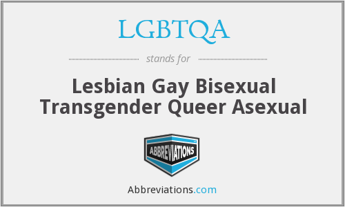 What does LGBTQA stand for?