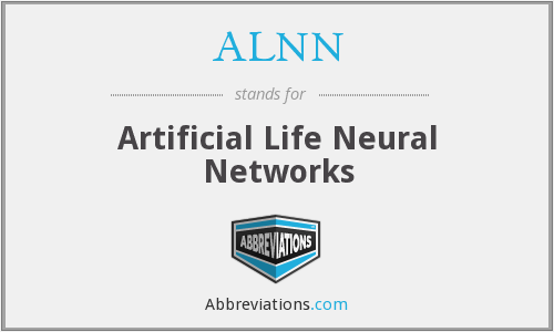 ALNN - Artificial Life Neural Networks