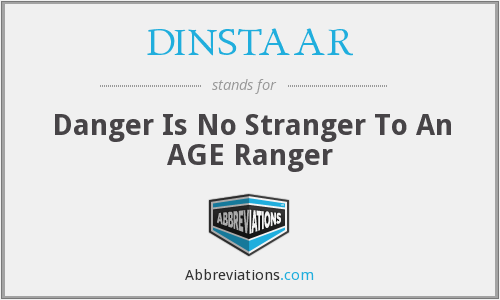 What does DINSTAAR stand for?